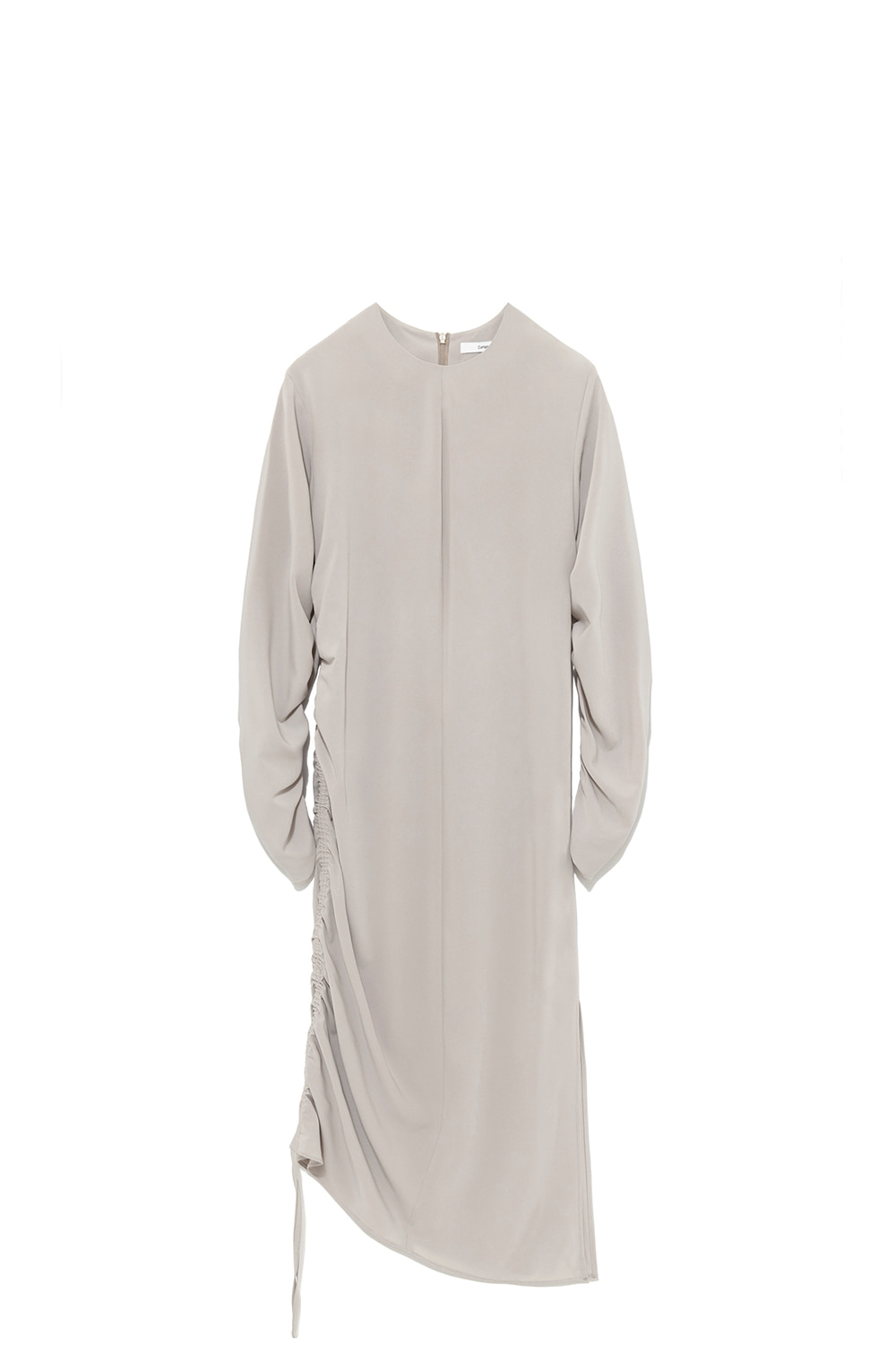 Shirring Dress Women [Beige]