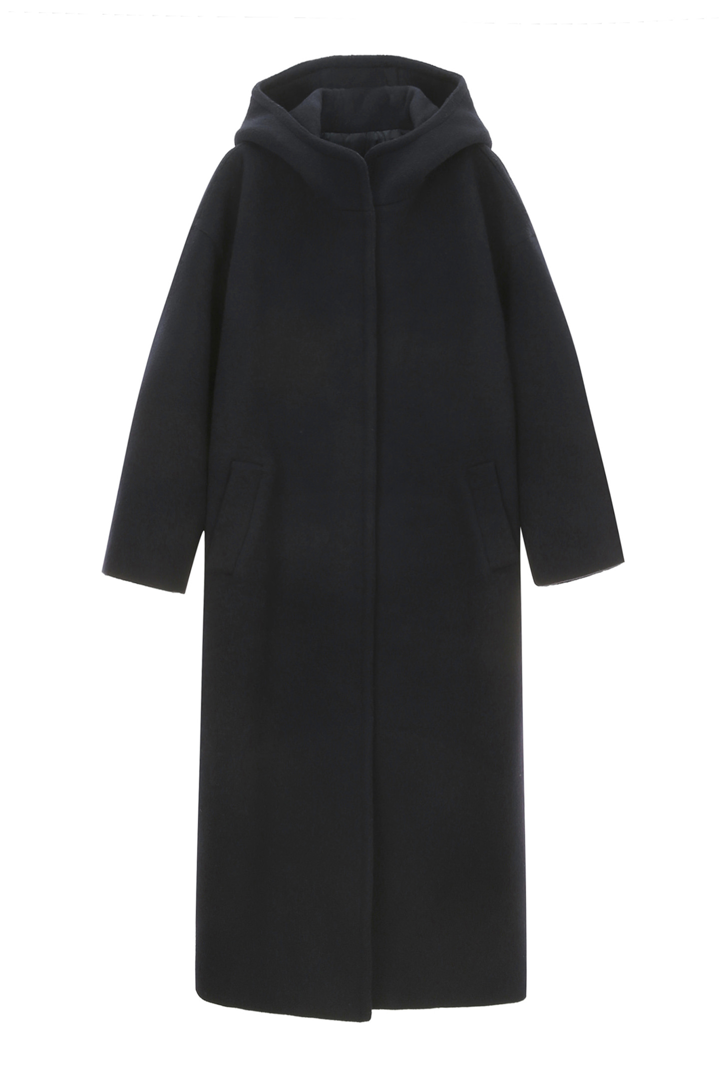 Hooded Coat Women [Navy]
