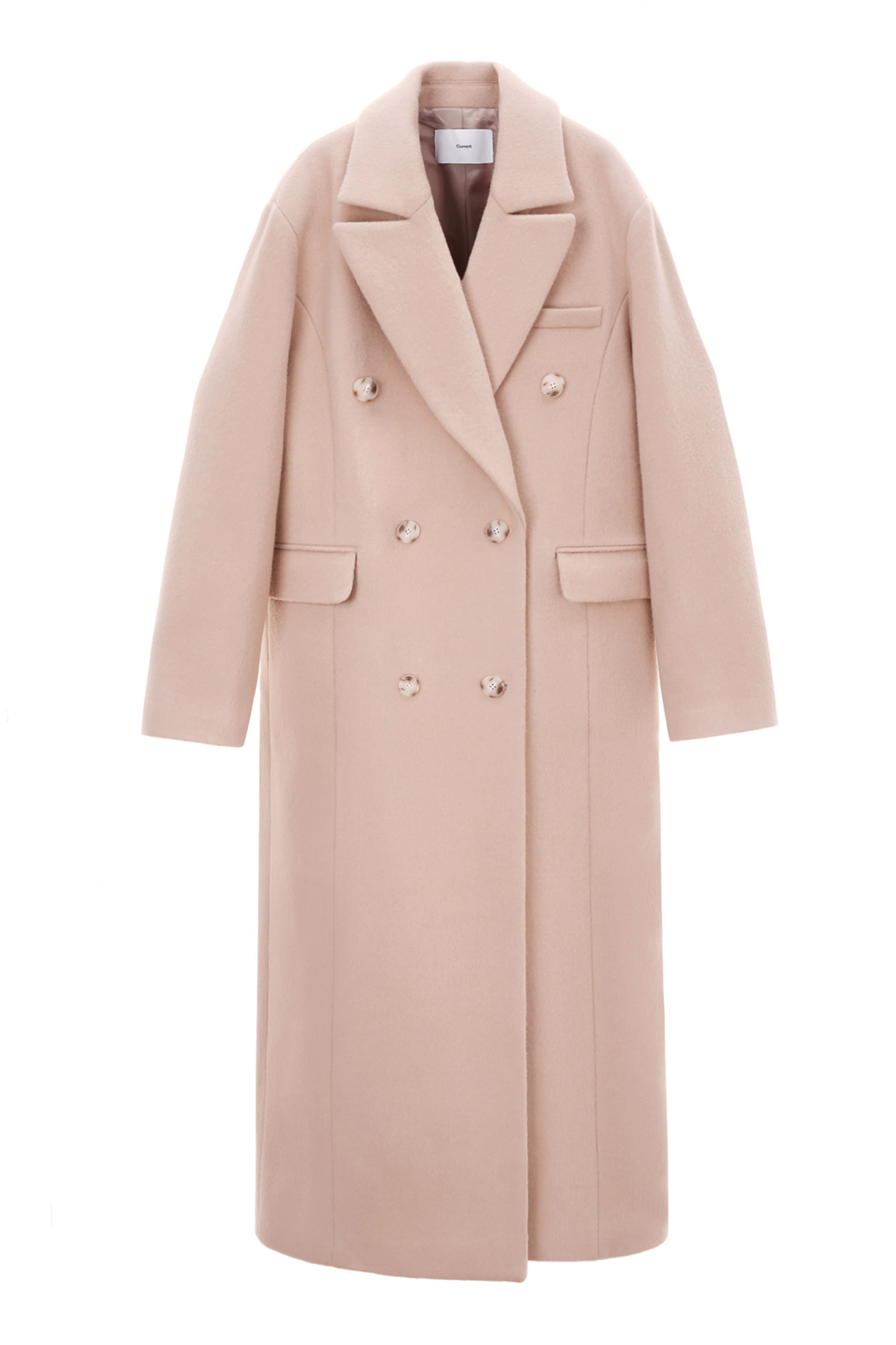 Double Coat Women [Light Pink]
