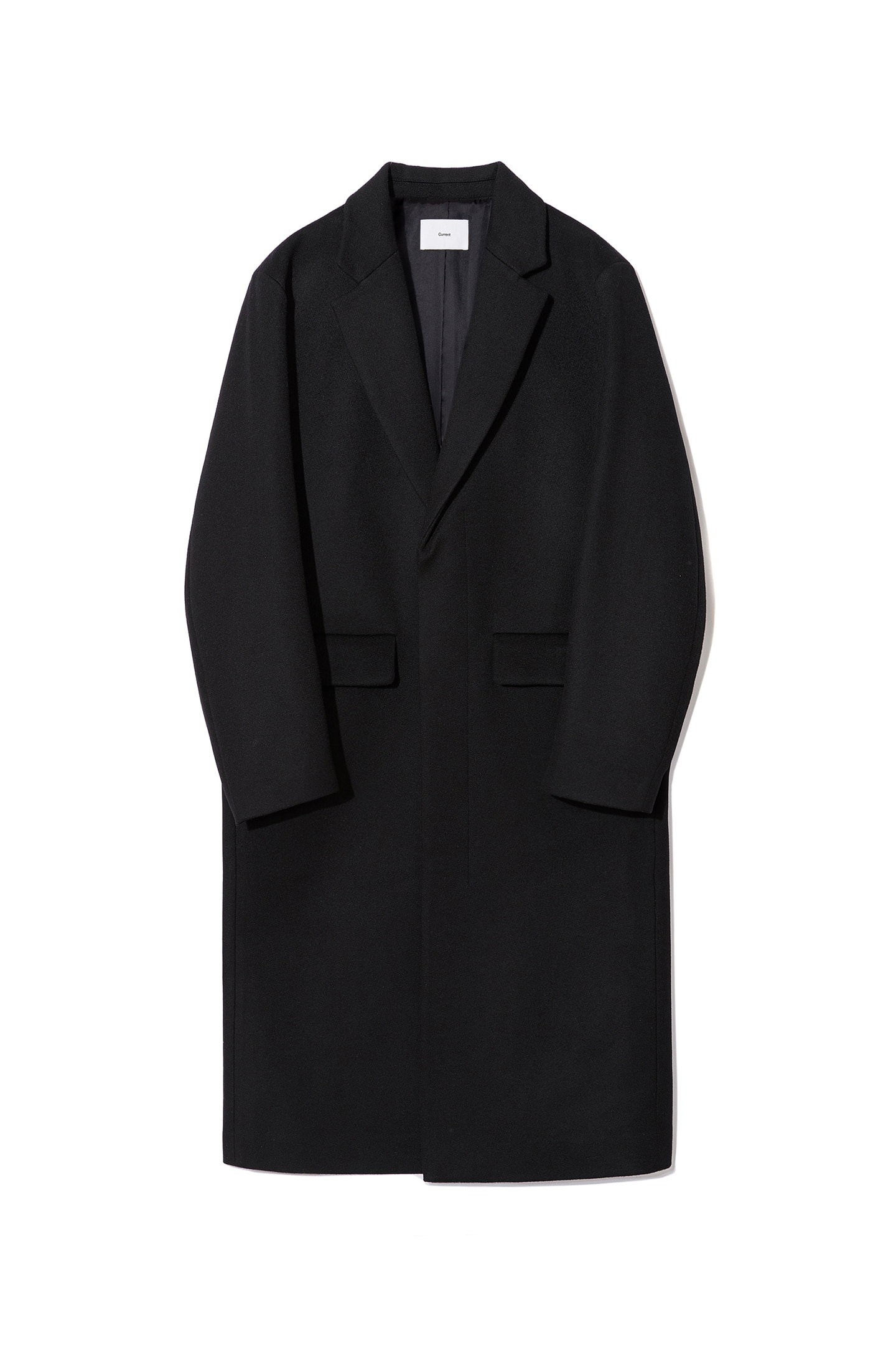 Cashmere Single Coat Men [Black]