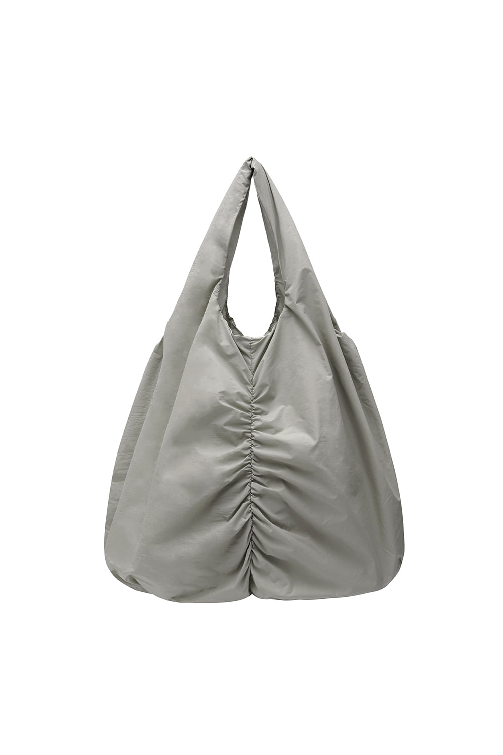 Shirring Shopper Bag Women [Gray]