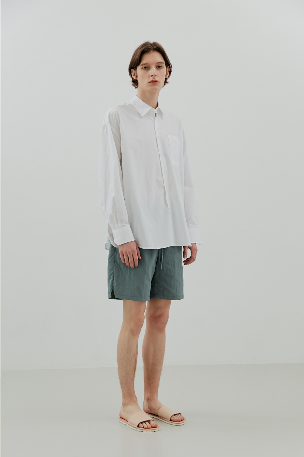 Summer Easy Shorts Men [Mint Gray]