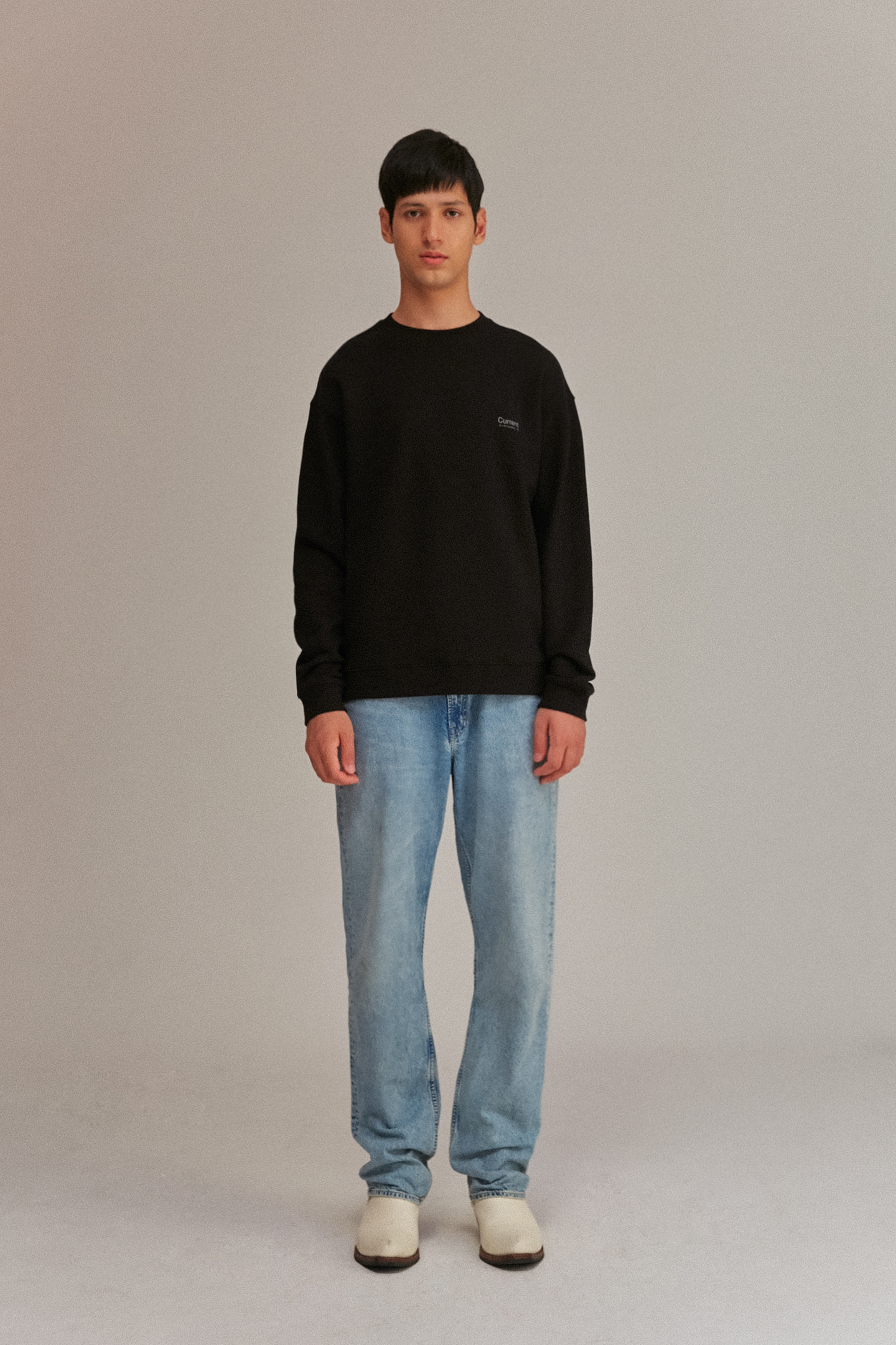 Logo Sweatshirt Men [Black]