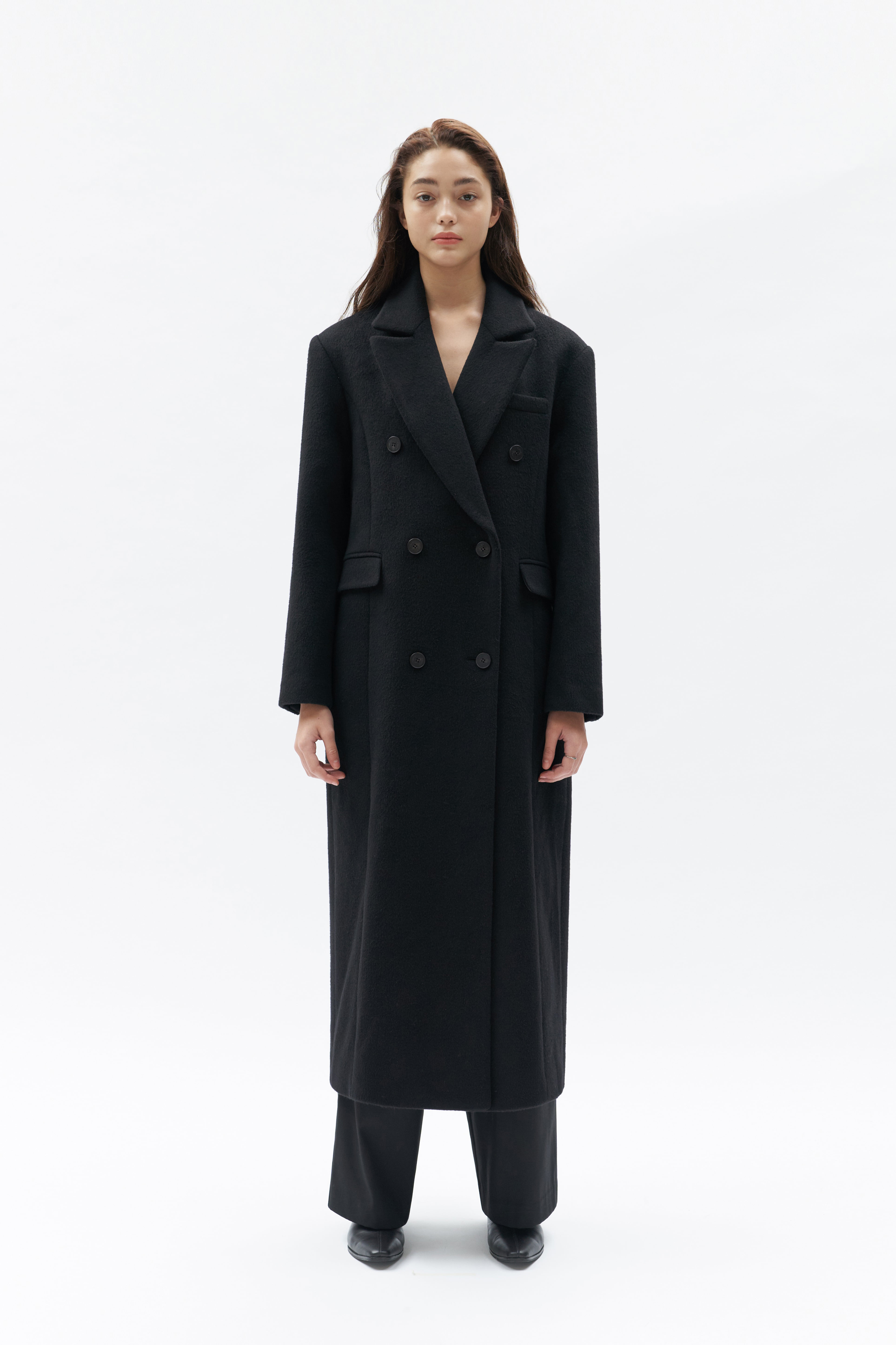 Double Coat Women [Black]