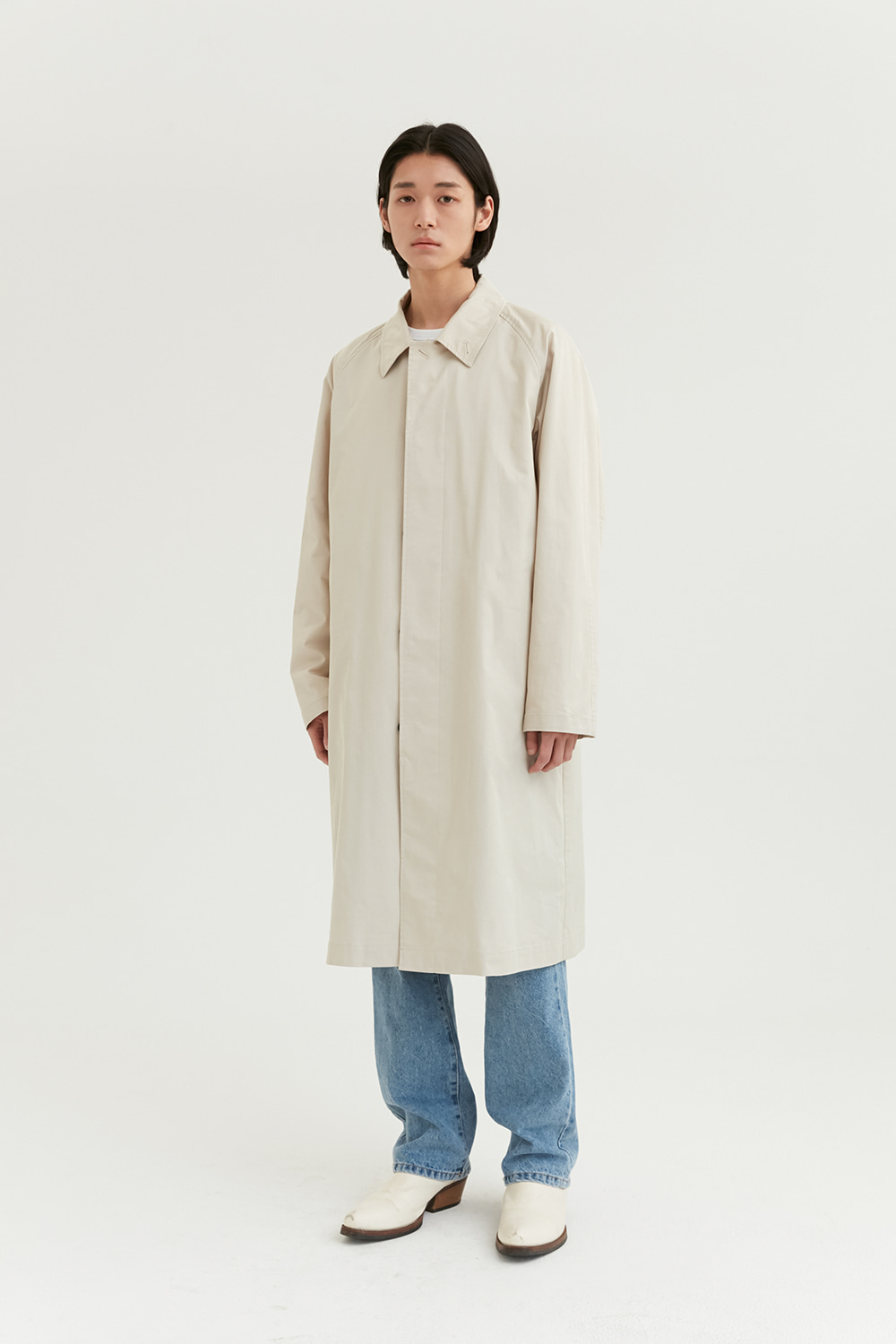 Balmaccan Coat Men [Beige]