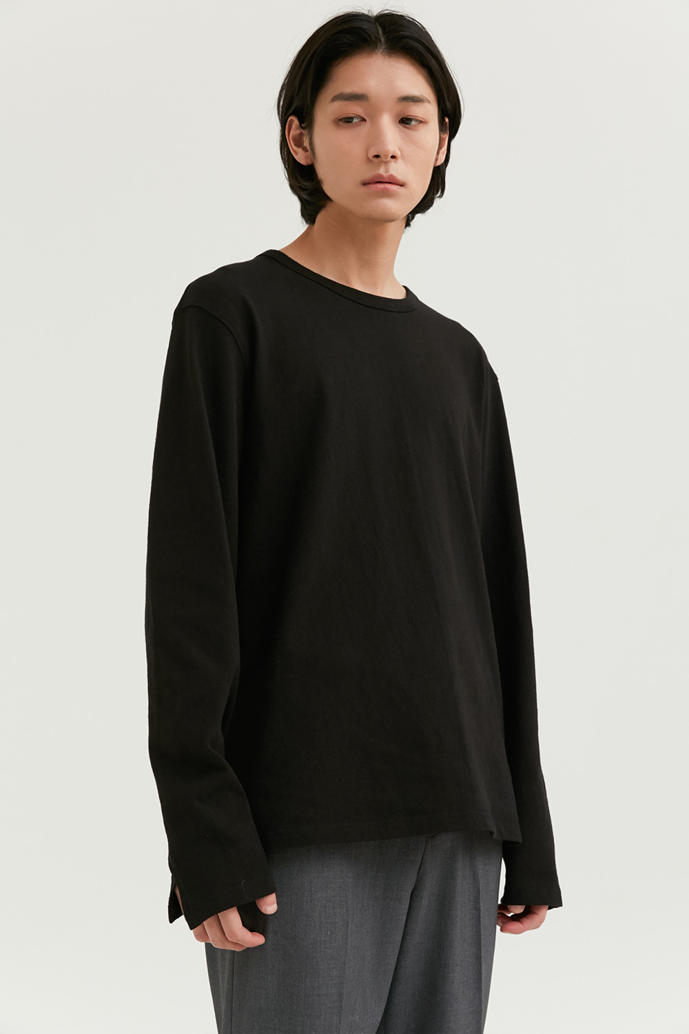 Long Sleeves Men [Black]