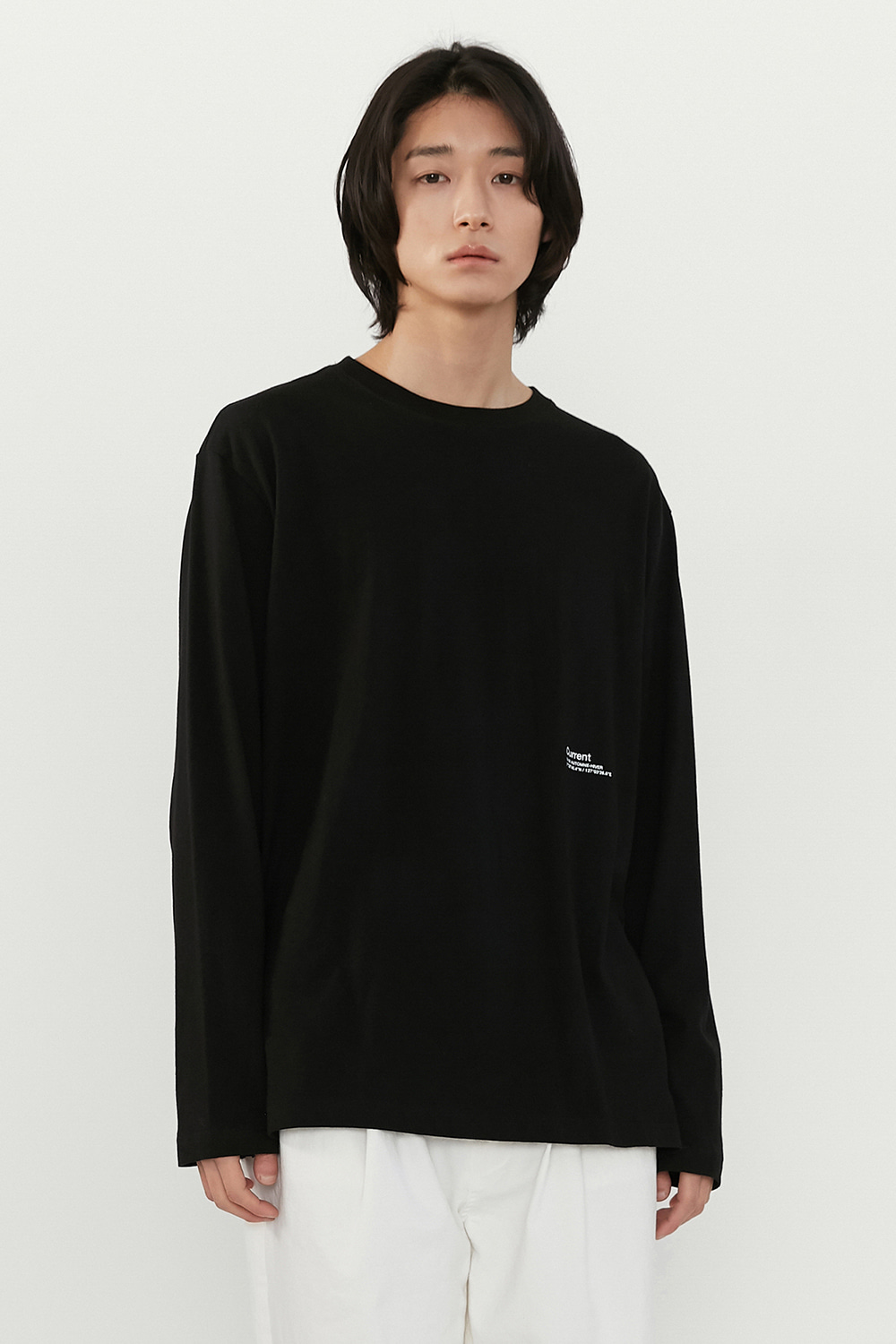 Logo Long Sleeve Men [Black]