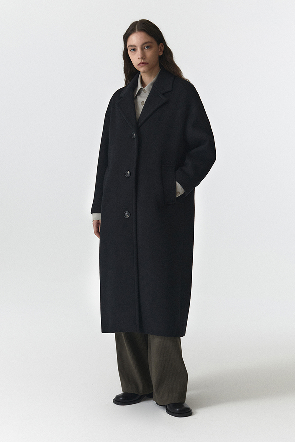 Over Coat Women JA [Black]