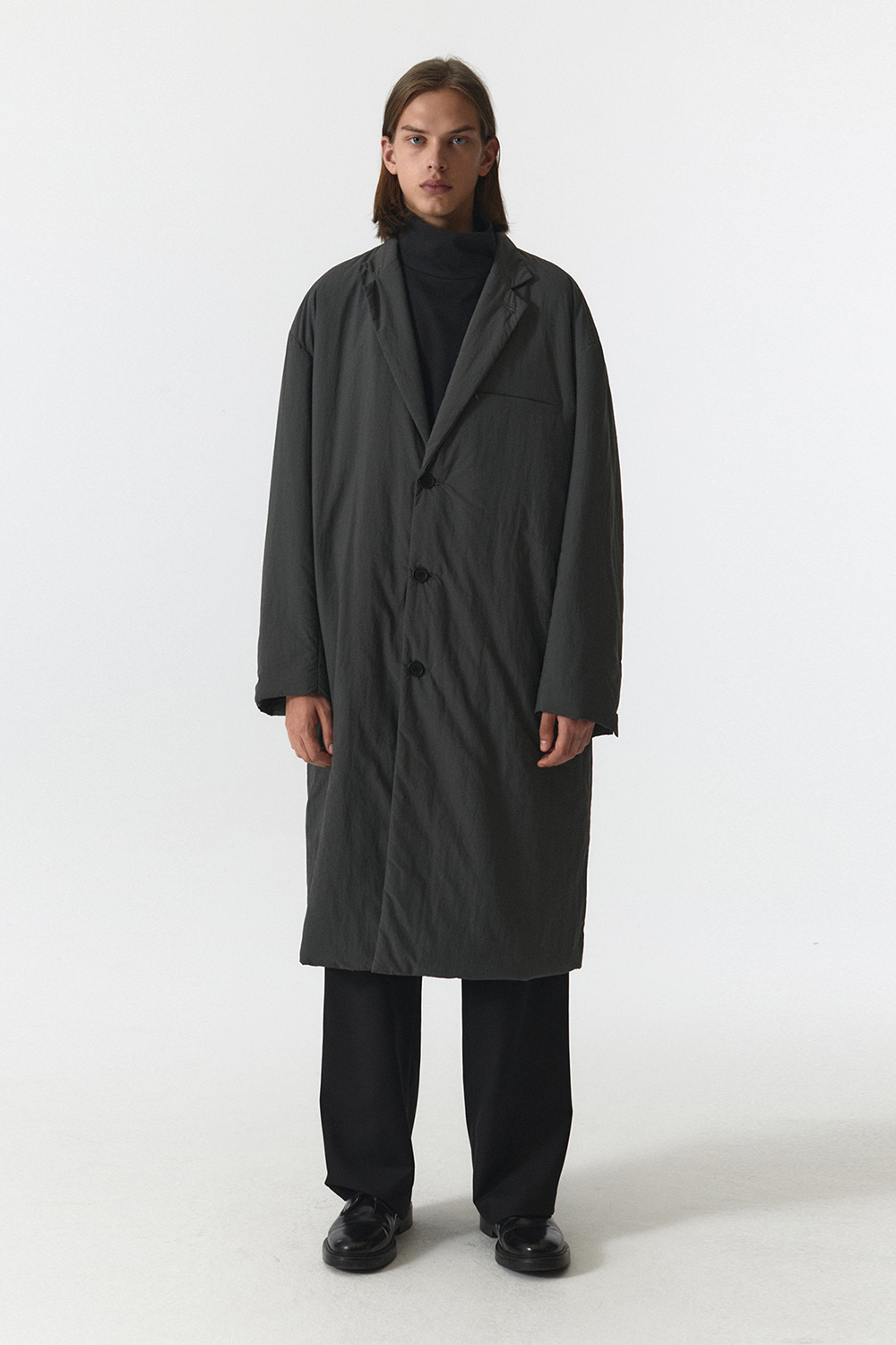Padded Coat Men JA [Charcoal]