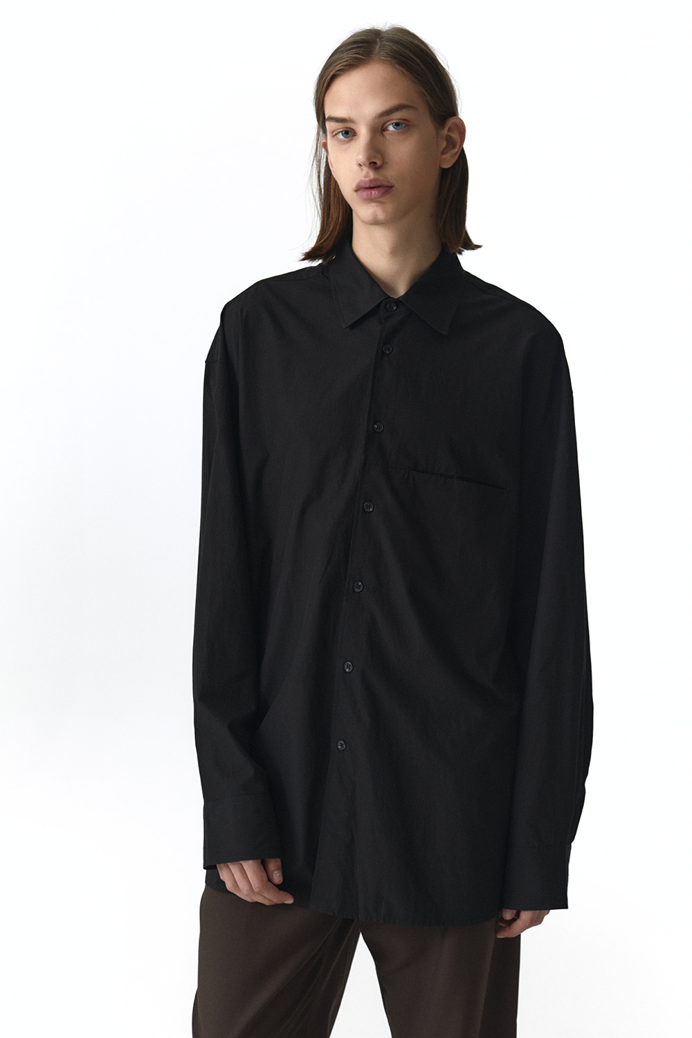 Overfit Shirts Men JA [Black]