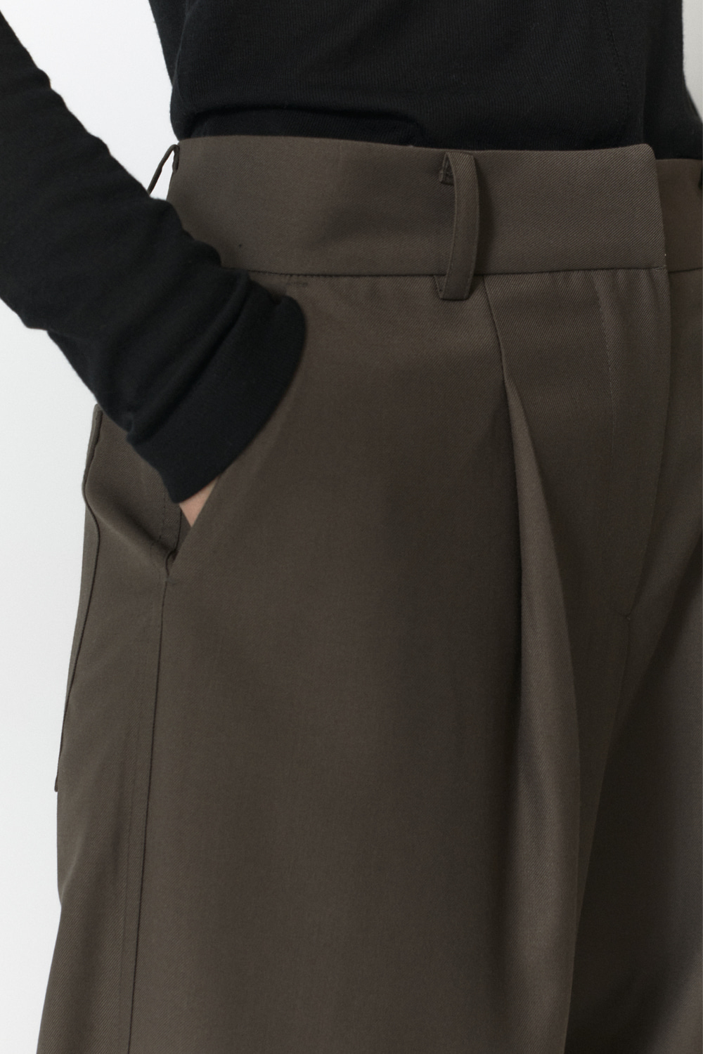 Over Pants Women JA [Taupe]