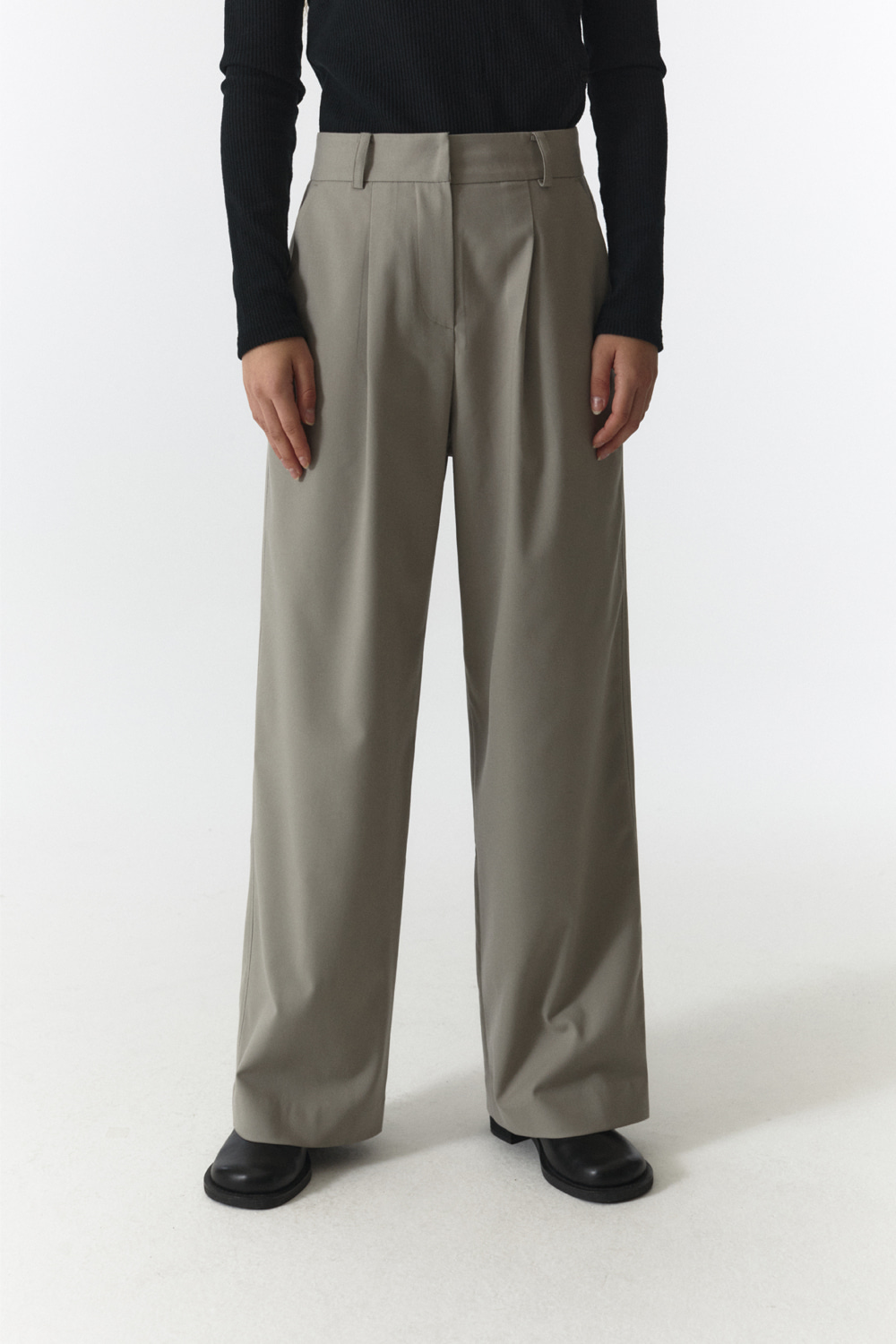Over Pants Women JA [Sand Gray]