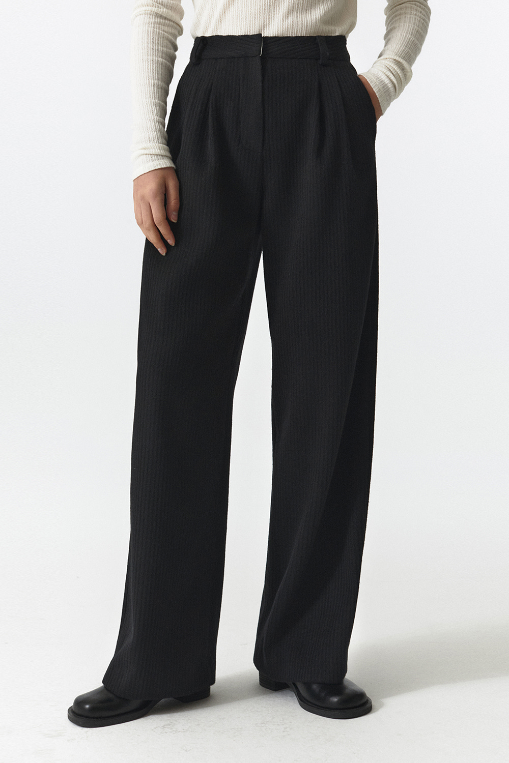 Wool Over Pants Women JA [Black]